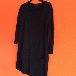 Express Black Sweater Tunic